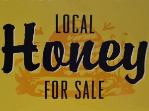 local-honey-sign