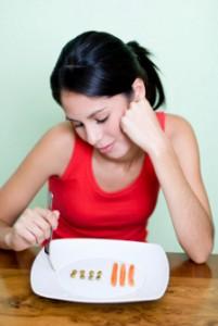 woman-rabbit-food-diet